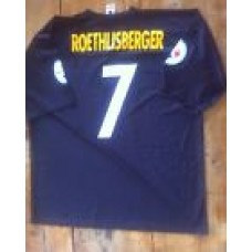 NFL apparel Pittsburgh Steelers Ben Roethlisberger 7 jersey size 2xl