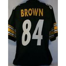 Antonio Brown Pittsburgh Steelers Unsigned Custom Black Jersey Size XL