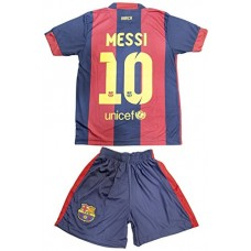 2014/2015 FC BARCELONA HOME LIONEL MESSI 10 FOOTBALL SOCCER KIDS JERSEY (8-