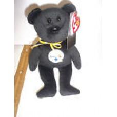 U PICK YOUR TEAM 1 NFL Football TY Beanie baby TEDDY BEAR logo COLOR NWT 8
