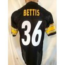Reebok Premier NFL Jersey PITTSBURGH Steelers Jerome Bettis Black sz M