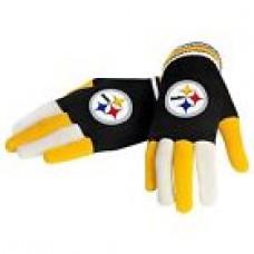 NFL Football Team Logo Multi Color Knit Gloves - Pick Your Team!