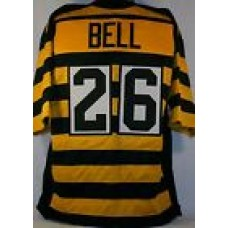 Le'Veon Bell Pittsburgh Steelers Unsigned Custom Bumblebee Jersey Size XL