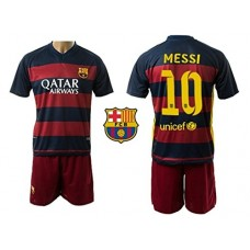 Barcelona Messi #10 Home Kids Soccer Jersey Youth Sizes YS YM YL Football K