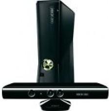 Microsoft Xbox 360 S with Kinect 250 GB Glossy Black Console (NTSC)