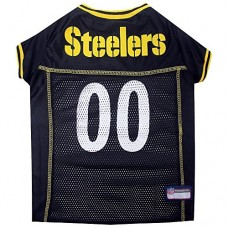 Pets First Pittsburgh Steelers Mesh Jersey, X-Small