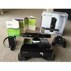 Microsoft Xbox 360 S with Kinect 250 GB Black Console, Bundle