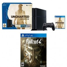 500GB PlayStation 4 Console - Uncharted: The Nathan Drake Collection Bundle