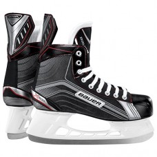 Bauer Junior Vapor X200 Skate, Black/Silver, R 2.0