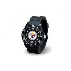 NFL Pittsburgh Steelers Spirit Watch, Black