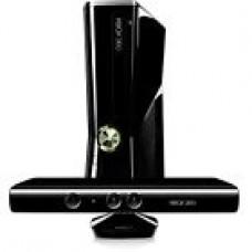 Microsoft Xbox 360 with Kinect 4 GB  Matte Black Console (NTSC)
