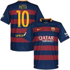 Barcelona Home Messi Jersey 2015 / 2016 (Official Printing) - M