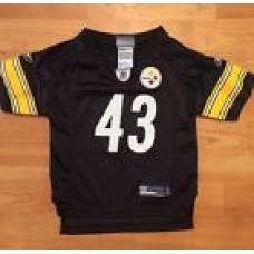 Reebok NFL Troy Polamalu Pittsburgh Steelers Football Jersey Size 24 Months