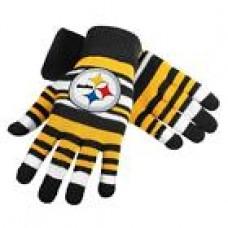 NFL Football Team Logo Stretch Gloves - Pick Your Team!