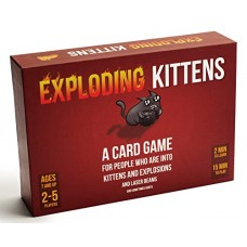 Exploding Kittens: A Card Game About Kittens and Explosions and Sometimes G