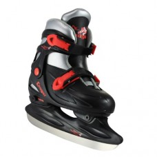 American Athletic Shoe Cougar Adjustable Hockey Skates, Black, Small/10-13