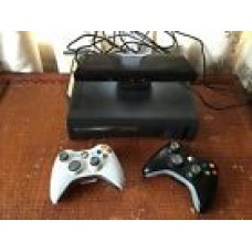 Microsoft Xbox 360 120 GB Matte Black Console With Kinect And Games
