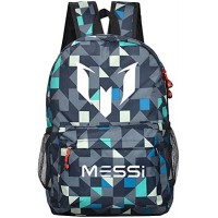 Tideshop Lionel Messi Logo Barcelona Casual Laptop Backpack Cosplay Schoolb