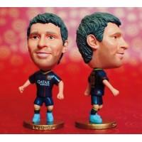 MESSI #10 - Barcelona Home 2013 / 2014 Football Figurine Soccer Star Figure