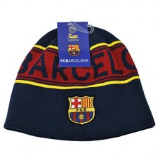 FC Barcelona Style Beanie Reversible2