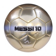 Baden Messi Deluxe Gold Soccer Ball, Size 5, Gold